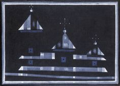 Jerzy Nowosielski, Czarna cerkiew, 1984.