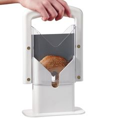 Bagel Guillotine Slicer Stainless Steel Biter Kitchen Cutter Knife Home Bread -- Details can be found by clicking on the image.