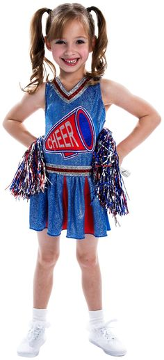 PartyBell.com - #Cheerleader Child Costume