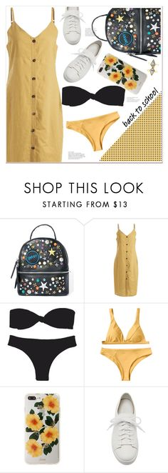 """back to school"" by mycherryblossom ❤ liked on Polyvore featuring Steve Madden, Sonix and Santoni"