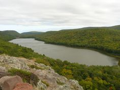 Lake of the Clouds - Porcupine Mountains - Michigan