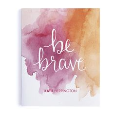 Brave available in two sizes or and two paper types (dot grid or college lined)! Dot Grid Notebook, Diy Notebook, Dotted Page, Planning And Organizing, Erin Condren Life Planner, Custom Notebooks, Getting Organized, Brave, Stationery