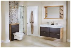 How To Leave Full Height Bathroom Cabinet Without Being Noticed - Utopia You Modular 5 x Full Height Panel Toilet Unit Plum Bathroom, Bathroom Renos, Master Bathroom, Bathrooms, Bathroom Inspo, Bathroom Ideas, Bathroom Vanity Units, Wood Vanity, Fitted Bathroom Furniture