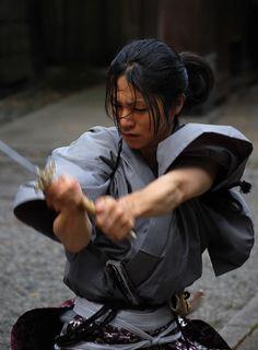 Yukie Sakamaki a fighter of Narita troops. Performer:Ryo-ta