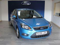 Ford Focus 1.6 Zetec 5dr Hatchback Petrol Blue