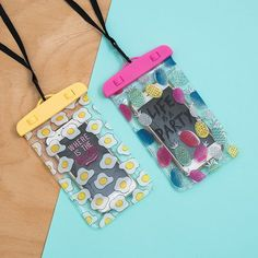 Waterproof phone cases. These look so cute and tumblr.