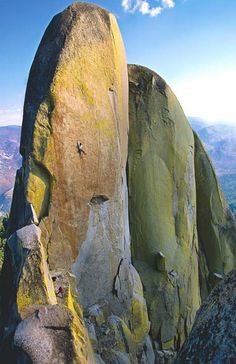 """Stone Mountains: North America's Best Crags"" by photographer Jim Thornburg."