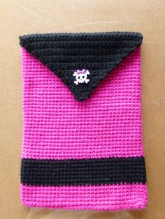 Monster High Crocheted Tablet, Kindle, Ipad, Nook case/ pouch