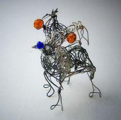 Jack Russel Terrier Pet Portrait Sculpture