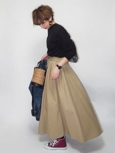 ファッション ファッション in 2020 Long Skirt Fashion, Modest Fashion, Fashion Outfits, Hijab Fashion, Dope Fashion, Fashion Over 40, Womens Fashion, Japanese Fashion, Asian Fashion