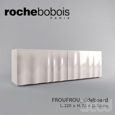 ROCHEbobois FROUFROU Cabinet Furniture, Table Furniture, Furniture Making, Modern Furniture, Furniture Design, Low Cabinet, Drawer Unit, Sideboard, Home Interior Design