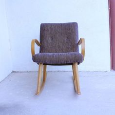Wooden Rocking Chair, 485€, now featured on Fab.
