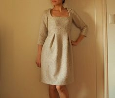 I choose to sew: Free pattern: Burda empire waist dress (sizes 34-44)