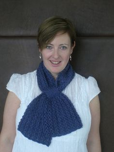 Ravelry: Loopy Lace Scarf pattern by Katie Harris