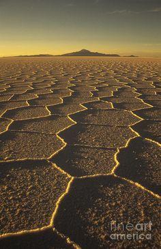 Salar de Uyuni and Tunupa volcano Photograph by James Brunker  www.liberatingdivineconsciousness.com