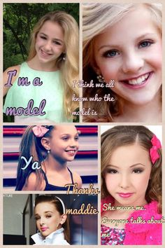 Dance moms and models Dance moms and models