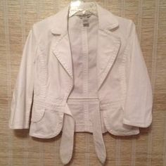 I just discovered this while shopping on Poshmark: White Blazer Jacket. Check it out!  Size: 4