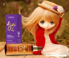 Te recomendamos aplicar 2 gotitas de Açaí Oil en tu cabellos, para mantenerlos lisos, suaves y brillosos.
