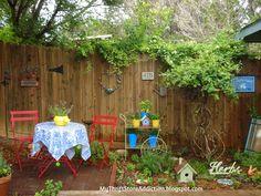 My Thrift Store Addiction : Welcome to Secret Garden: My Creative Space! #Garden #OrganicHerbs #RepurposedThriftFinds