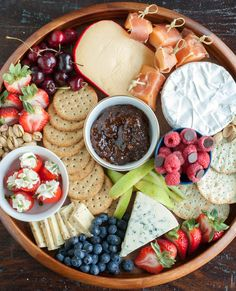 Summer cheese board- Wow your summer guests with an out of this world cheese board.Step By Step how to assemble a beautiful cheese board.
