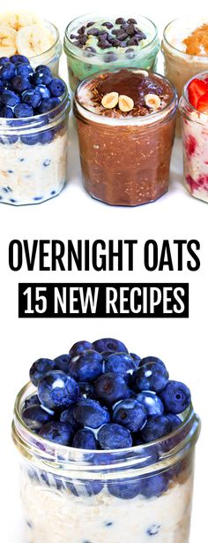 overnight oats vegan & overnight oats ` overnight oats healthy ` overnight oats in a jar ` overnight oats recipe ` overnight oats healthy clean eating ` overnight oats healthy easy ` overnight oats vegan ` overnight oats peanut butter Healthy Overnight Oatmeal In A Jar, Overnight Oats Receita, Low Calorie Overnight Oats, Dairy Free Overnight Oats, Strawberry Overnight Oats, Chocolate Overnight Oats, Healthy Oatmeal Recipes, Oats Recipes, Healthy Breakfast Recipes