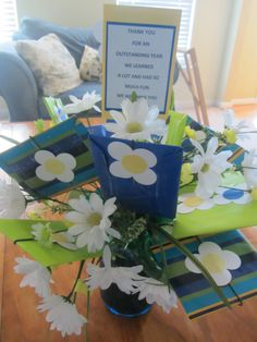 Gift card bouquet