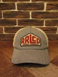 """RRL等の通販サイト【RHYTHM】RRL(ダブルアールエル) """"TRACK CAP""""(トラックキャップ)【DETAIL】"""