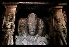 Elephanta Caves - Mahesamurthi