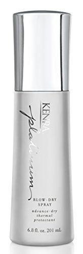 Kenra Professional Blow-Dry Spray, Ounce Kenra Platinum Blow-Dry Spray dramatically decreases blow-dry time and provides intense heat protection from damage Best Hair Mousse, Kenra Hair Products, Unique Gifts For Men, Hairspray, Blow Dry, Nail Polish, Stuff To Buy, Things To Sell, Curls