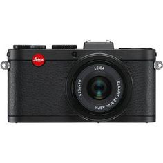 Leica X2 with 24mm F2.8 Lens, Black