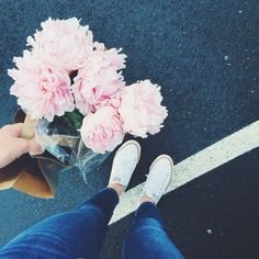 #brightlydecoratedlife tip: peonies go with everything