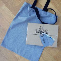 Tote Bag Sewing Kit Robert Kaufman's Railroad Denim – The Draper's Daughter