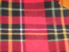 Monogrammed Scarf, Personalized Scarf, Red Plaid, Red Yellow Black & White Plaid, Fleece Scarf, Fringed Scarf, Personal Yet Inexpensive Gift White Plaid, Red Plaid, Yellow Black, Black And White, Monogrammed Scarf, Fleece Scarf, Cozy Scarf, Circle Scarf, Fringe Scarf
