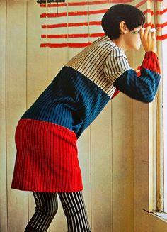 Peggy Moffitt, 1960s.