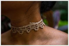 Sweet Nothings Crochet: BEAUTIFUL CROCHET CHOKER - 2