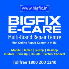 Bigfix Online Repair center www.bigfix.in