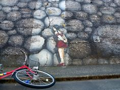 Japanese street art | ... near Ryogoku station on the way to the Sumo museum in Tokyo, Japan