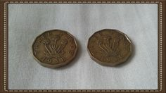 British coin - 2 x 1938 three pence piece coin George VI by brianspastimes on Etsy