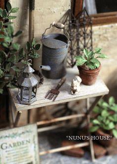 garden by my most favourite miniaturist ever, Nunu.