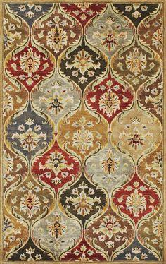 Kas Oriental Syriana Panel Jeweltone Rug | Traditional Rugs