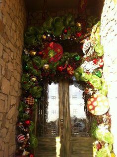 Christmas Door Decor | christmas