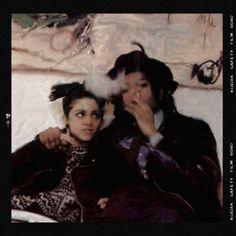 basquiat with madonna 80s