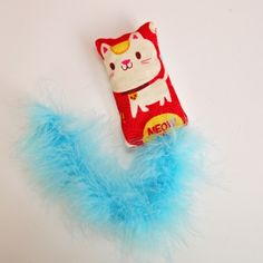 DIY Fun and Fluffy Cat Toy