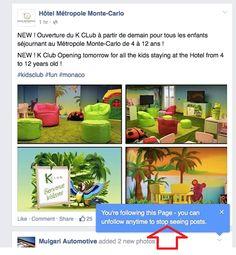 Facebook suggère aux utilisateurs de ne plus suivre certaines Pages Pros - #Arobasenet