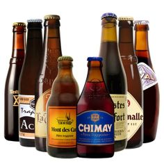 Bières Trappistes Achal - Orval - Chimay - Rochefort - Westmalle - Westvleteren - Mont des Cats - La Trappe (trappistenbier - trappist beer)