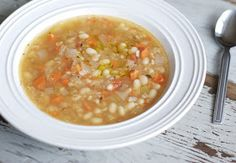 So Good and Tasty: White Bean Soup
