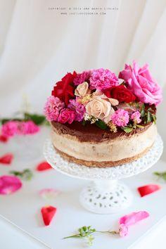 Just Love Cookin Gluten Free Sweets, Raw Desserts, Healthy Sweets, Vegan Cheesecake, Vegan Cake, Raw Vegan Recipes, Dairy Free Recipes, English Food, Love Food