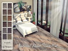 Sims 4 CC's - The Best: Natural Wood Floor #2 ~ by Melly20x