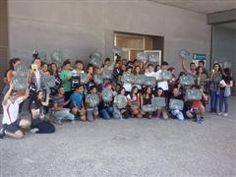 """Ganadores de la V Olimpiada Lectora. Entrega de premios en la Biblioteca """"Miguel de Cervantes"""" (Bailén-Las Chapas, Málaga)"""