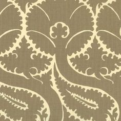 Delicata | Peter Fasano, LTD #textiles #fabric #linen #neutral Textile Fabrics, Home Textile, Textile Design, Motif Floral, Fabric Wallpaper, Pantone Color, Fabric Painting, Fabric Patterns, Cotton Linen
